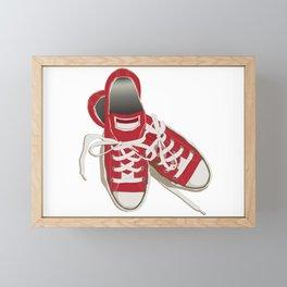 Sneakers Framed Mini Art Print