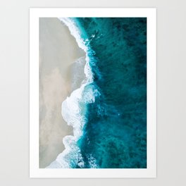 Above The Sea Art Print