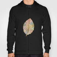 Colored Leaf Pattern Hoody