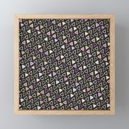 Diamond Pattern 3 Framed Mini Art Print