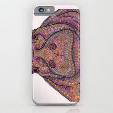 Hippie-Potamus (Pink) Slim Case iPhone 6s