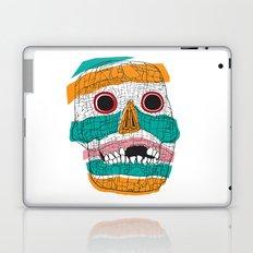 Stripy Skull  Laptop & iPad Skin