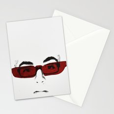 le blanc des yeux Stationery Cards