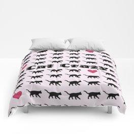 Cat Crazy Comforters