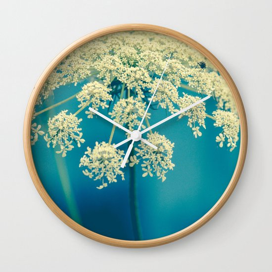 Lace Wall Clock