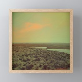 Lonely Landscape Framed Mini Art Print