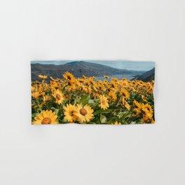 Oregon Summer Wildflower Hillside Meadow Hand & Bath Towel