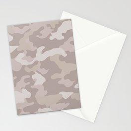 Beige Camo Stationery Cards