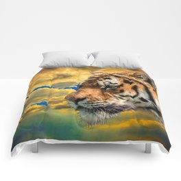 Free Tiger Comforters