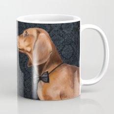 Elegant dachshund. Mug