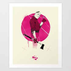 Mr Spiv Art Print