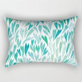 Mermaid Tails Watercolour | Original Palette Rectangular Pillow