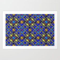 Diamond Graphix Art Print
