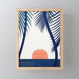 California Dreamin Framed Mini Art Print