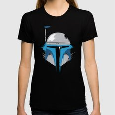 Jango Black SMALL Womens Fitted Tee
