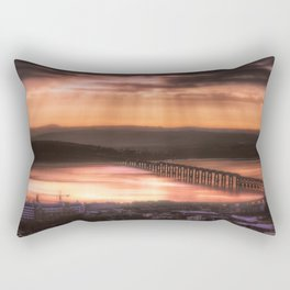 Dundee Railway Bridge Rectangular Pillow