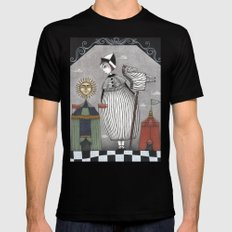 A Circus Story Black Mens Fitted Tee MEDIUM