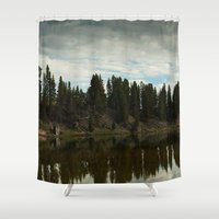country Shower Curtains featuring Country  by Julie Luke