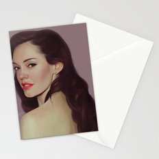 Rose McGowan Stationery Cards