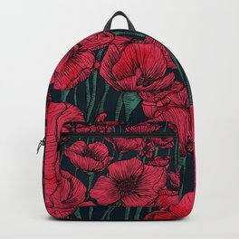 Field of Poppies Backpack