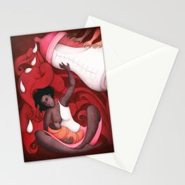 Breastfeeding and African-American Women Stationery Cards