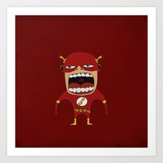 Screaming Flash Art Print