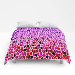 THINK LILAC CORAL Comforters