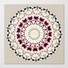 Retro Light Spin (circle week) Canvas Print