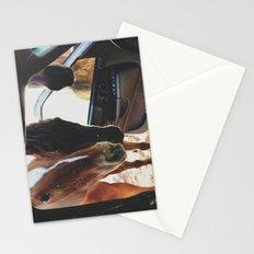 Car Horses Stationery Cards