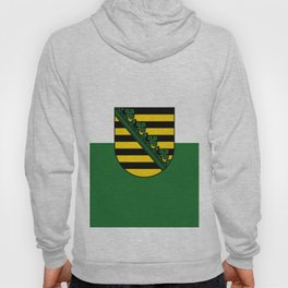 flag of Sachsen (historic state) Hoody