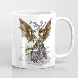 Steampunk Dragon Coffee Mug