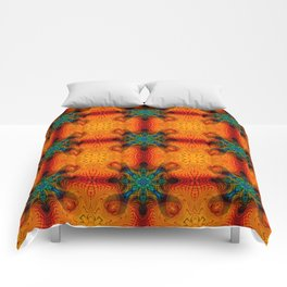 Tryptile 48b (Repeating 1) Comforters