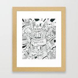 less limb Framed Art Print