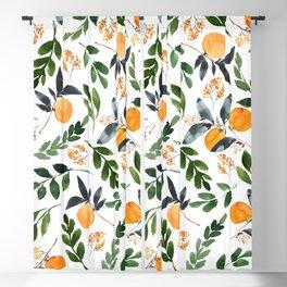 Orange Grove Blackout Curtain