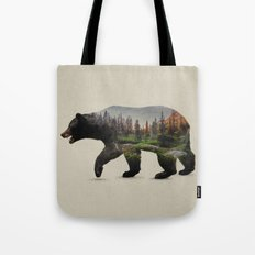 The North American Black Bear Tote Bag