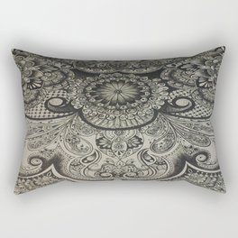 Close up Design Work Rectangular Pillow