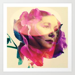 In bloom Art Print