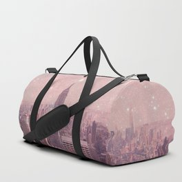Stardust Covering New York Duffle Bag