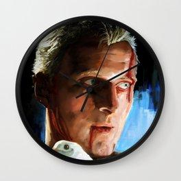 Roy  (Blade Runner) Wall Clock