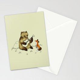 Bear & Fox Stationery Cards
