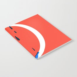 Dripping letter D Notebook