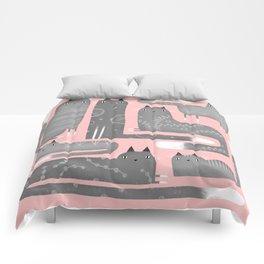 FANCY GRAY Comforters