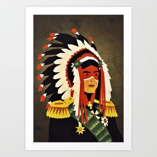 General Chief Art Print