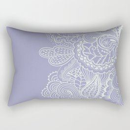 Abstract Nature in Ultraviolet Rectangular Pillow