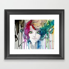 The Charming Idealism Framed Art Print