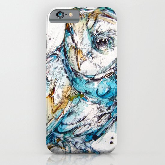 The Sea Glass Owl iPhone & iPod Case