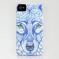 ice wolf iPhone (4, 4s) Slim Case