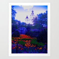 Enchanted Garden Art Print