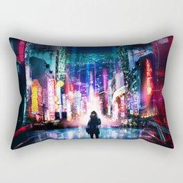Tokyo Cyberpunk Japan Rectangular Pillow