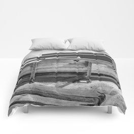 Old Wooden Boat Comforters